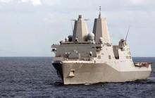 Tàu Iran áp sát tàu chở tướng Mỹ