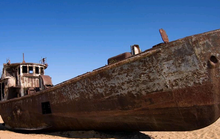 Đội tàu ma trên sa mạc Aralkum?