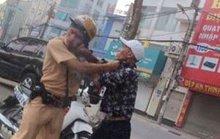 Dừng xe của thanh niên xăm trổ, trung úy CSGT bị hành hung