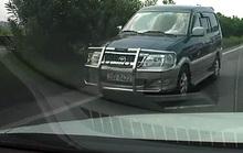 Toyota Zace chạy ngược chiều trên cao tốc gây phẫn nộ