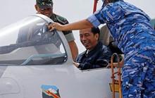 Tổng thống Indonesia đích thân giám sát tập trận ở biển Đông