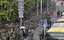 Cựu binh Trung Quốc biểu tình ngay ở Bắc Kinh