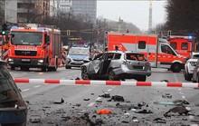 Ô tô nổ tung giữa thủ đô Berlin, 1 người thiệt mạng