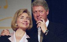 Ông Clinton đốn tim đại hội bằng chuyện tình với bà Hillary