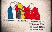 """Thế giới """"nắm chặt tay"""" vì nước Bỉ"""