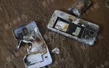 Smartphone bốc cháy khiến chủ nhân... mất quần