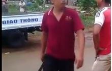 Bắt khẩn cấp thanh niên chém cảnh sát trật tự
