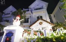 Hai ngôi nhà ngập tràn không khí Giáng sinh ở Hà Nội