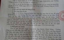Vụ học sinh tự tử ở Quảng Ngãi: Công an huyện kết luận không bắt nhốt