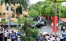 Quái thú chở ông Obama rời khách sạn InterContinental