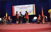 74 người tốt nghiệp thạc sĩ chương trình Việt- Bỉ