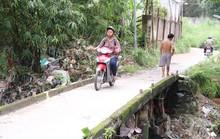 Mưa lớn ở Biên Hòa, một thanh niên bị cuốn trôi cùng xe máy