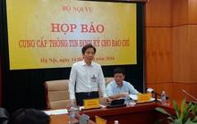 Bộ Nội vụ: Đã kiểm điểm nghiêm túc vụ ông Trịnh Xuân Thanh