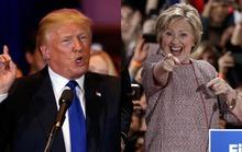 Ông Trump bị bà Clinton bỏ xa, đảng Cộng hòa ghẻ lạnh