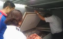 Trộn thịt heo với thịt đà điểu bán cho quán nhậu