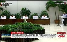 Chính phủ Colombia, FARC ký lại thỏa thuận hòa bình