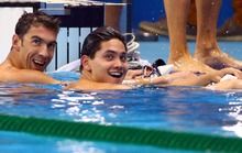 Sốc: Thần đồng bơi Singapore lại thắng Michael Phelps