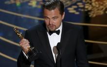 Leonardo DiCaprio hạnh phúc lần đầu đoạt Oscar