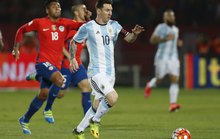 Argentina thắng Chile trong ngày Messi trở lại