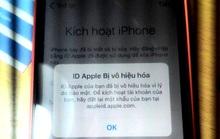 Bị khóa iPhone vì cài Pokemon Go bằng Apple ID 'chùa'