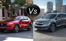 Cuộc chiến Honda CR-V 2017 và Mazda CX-5 2017