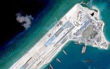 Mỹ phản ứng Trung Quốc đáp máy bay quân sự xuống đá Chữ Thập