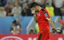 Buffon khóc sau thất bại cay đắng trước tuyển Đức