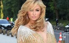 Paris Hilton tự tin diện đầm xuyên thấu