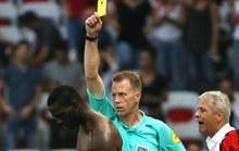 Balotelli lần đầu bị đuổi ở Ligue 1