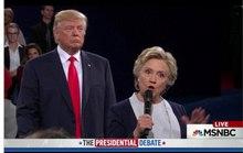 """Bà Clinton bất ngờ trải lòng về sự """"rình rập"""" của ông Trump"""