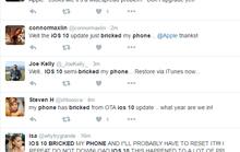 Cập nhật iOS 10 khiến iPhone thành 'cục gạch'