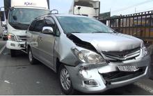 Ô tô chở 6 người đi ăn tiệc gặp nạn trên Quốc lộ 1