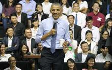 """Tổng thống Obama """"truyền lửa"""" cho giới trẻ"""