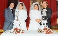 Cặp song sinh kết hôn và chôn cất chồng cùng 1 ngày