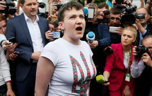 Vừa được Nga thả, nữ phi công Ukraine sẵn sàng tranh cử tổng thống