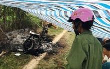 Phát hiện 1 người phụ nữ chết cháy cạnh chiếc xe máy