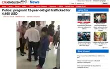 Truy tìm bé gái mang thai ở Trung Quốc