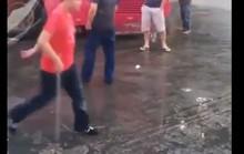 Bắt 3 côn đồ đất mỏ truy sát kinh hoàng chủ xe khách