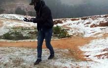 Rét kỷ lục, Thanh Hóa xuất hiện băng giá, tuyết rơi