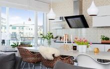 Mãn nhãn với căn hộ 90m² ngập tràn ánh sáng tự nhiên