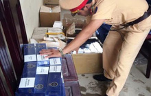 Bắt xe tải chở gần 1.000 bao thuốc lá lậu