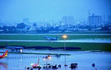 Ì ạch giải ngập sân bay Tân Sơn Nhất