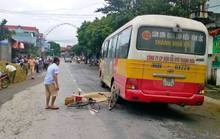 Xe buýt cán chết 1 người đàn ông đi xe đạp