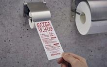 Điện thoại ở Nhật Bản có giấy vệ sinh riêng