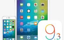 iOS 9.3 chính thức phát hành