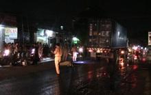 Bị xe container cuốn vào gầm, nam thanh niên chết trong đêm