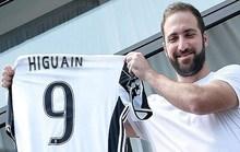 Higuain nhận áo số 9 tại Juventus