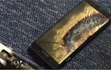 Galaxy Note 7 bản mới bốc khói, cả máy bay sơ tán