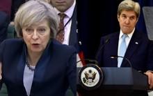 Anh chỉ trích phát biểu của ông Kerry về Israel
