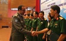 12 sĩ quan Việt Nam tham gia lực lượng mũ nồi xanh LHQ